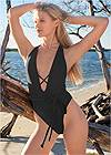 Alternate View Sports Illustrated Swim™ Brazilian Wrap One-Piece