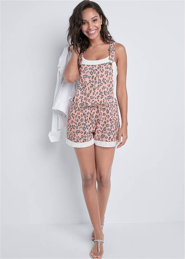 Back View Lounge Short Overalls