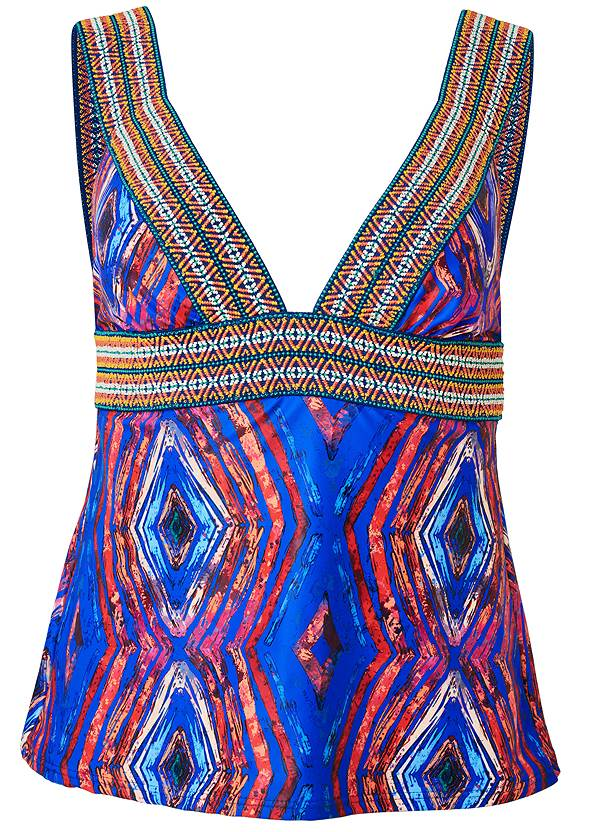 Ghost with background  view Elastic Tankini