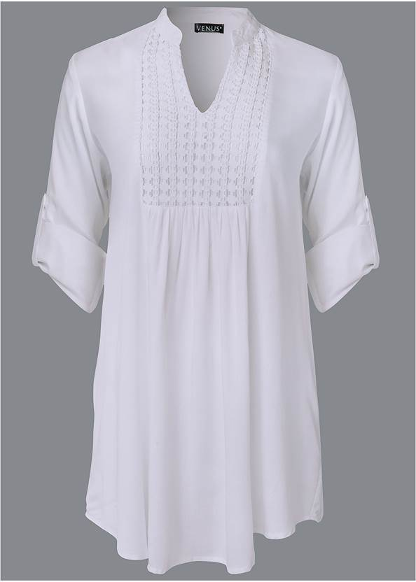 Alternate View Sheer Tunic Cover-Up
