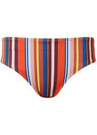 Ghost with background  view Mid Rise Hipster Classic Bikini Bottom