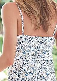 Detail back view Silky Sleep Chemise