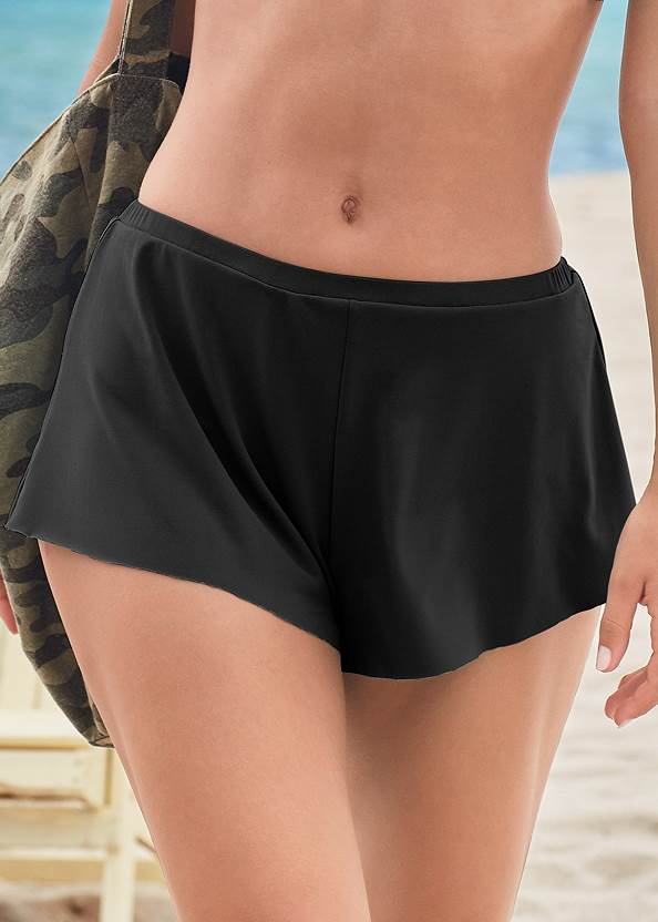 Detail front view Swim Full Coverage Shorts