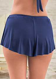 Detail back view Swim Full Coverage Shorts