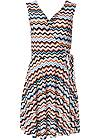 Alternate View Chevron Print Dress