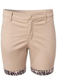 Alternate View Leopard Trim Shorts