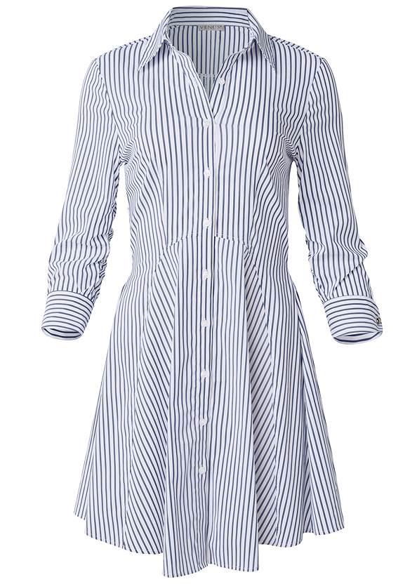 Alternate View Collared Shirt Dress