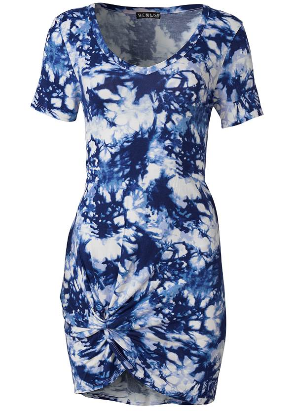 Alternate View Knotted Casual Dress