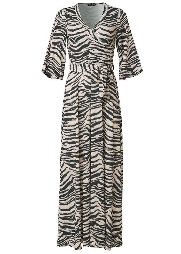 Alternate View Animal Print Maxi Dress