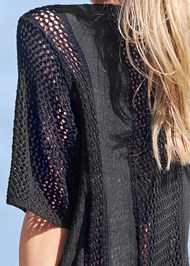 Alternate View Crochet Duster