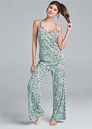 Full Front View Pant Set