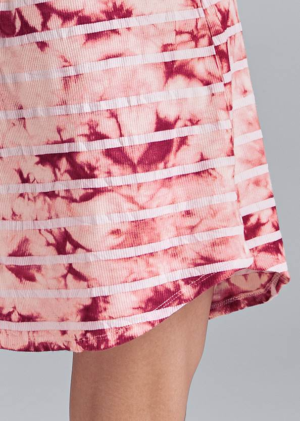 Alternate View Printed Sleep Dress