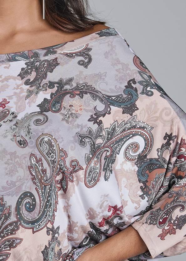 Alternate View Printed Mini Dress