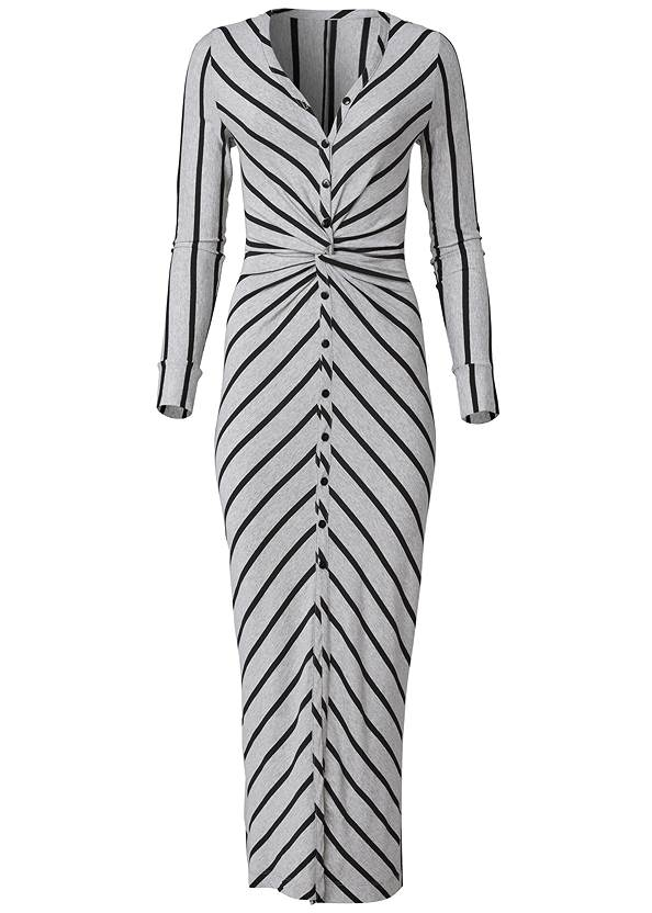 Ghost with background  view Knot Front Maxi Dress