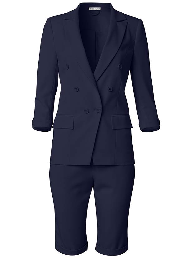 Ghost with background  view Bermuda Suiting Set