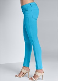 Detail view Mid Rise Color Skinny Jeans
