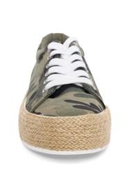 Alternate View Camo Print Espadrille Sneaker