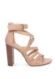 Alternate View Multi Strap Block Heel