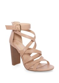 Shoe series  view Multi Strap Block Heel