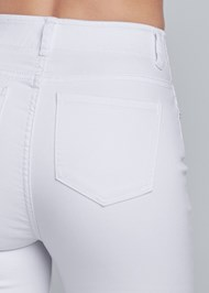 Alternate View Elastic Waistband Jeans