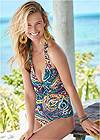Full front view Julie Halter Tankini Top