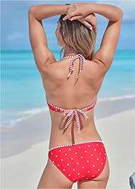 Cropped Back View Low Rise Bikini Bottom