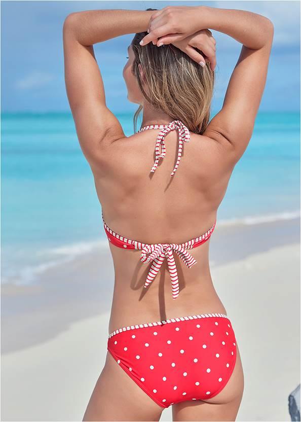 Back View Underwire Bikini Top