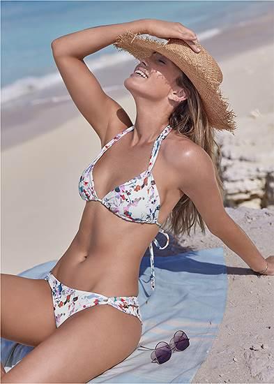 Bold Triangle Bikini Top