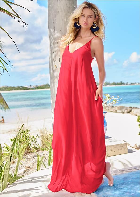 Alternate View Boho Maxi Dress Cover-Up