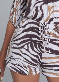 Alternate View Casual Print Romper