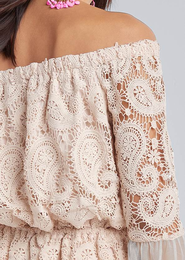 Alternate View Off The Shoulder Lace Top