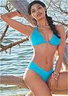 Alternate View Sports Illustrated Swim™ High Leg Ruched Bottom