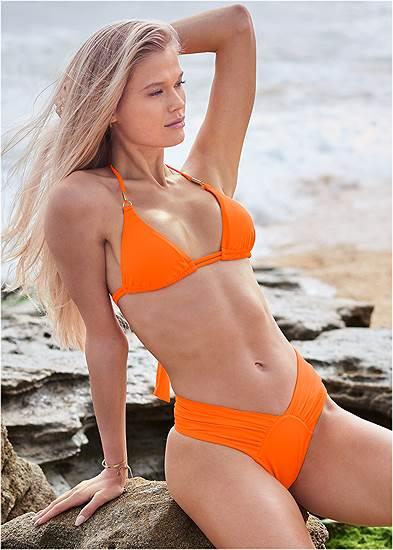 Plus Size Sports Illustrated Swim™ Double Strap Triangle Top