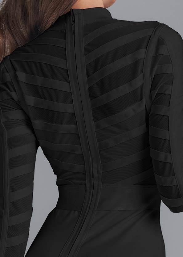 Alternate View Studded Bodycon Dress