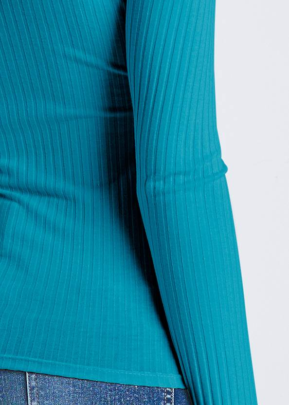 Alternate View Ribbed Casual Top