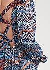 Detail back view Printed Maxi Dress
