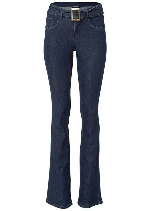 Ghost with background  view Belted Bootcut Jeans