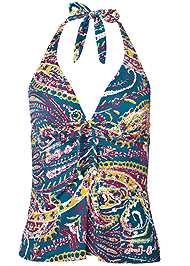 Ghost with background  view Julie Halter Tankini Top