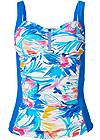 Ghost with background  view Slenderizing Tankini Top