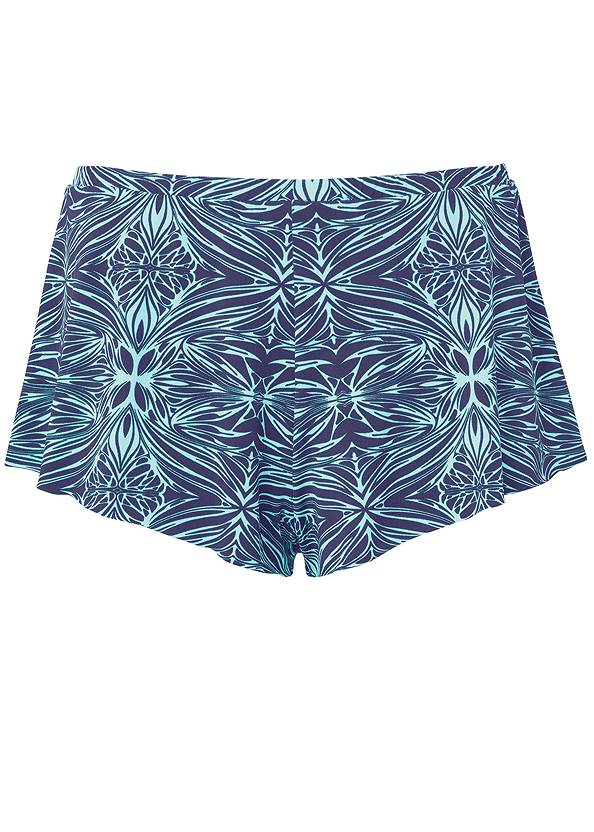 Ghost with background  view Swim Full Coverage Shorts