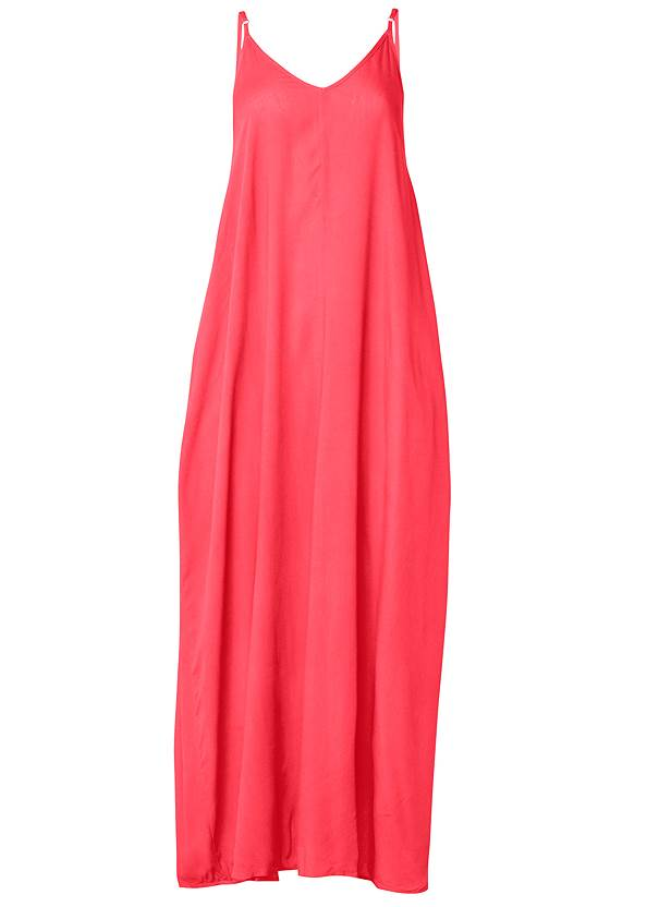 Ghost with background  view Boho Maxi Dress Cover-Up