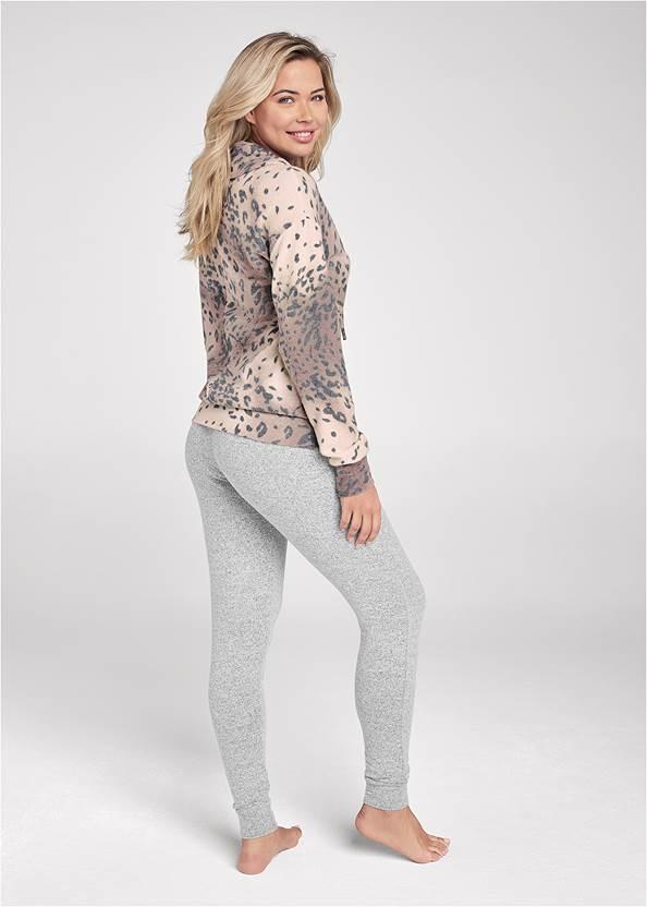 Alternate View Cozy Leopard Pullover