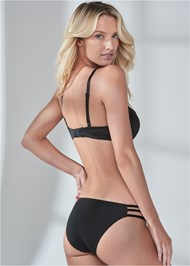 Back View Pearl™ By Venus Strappy Push Up Bra