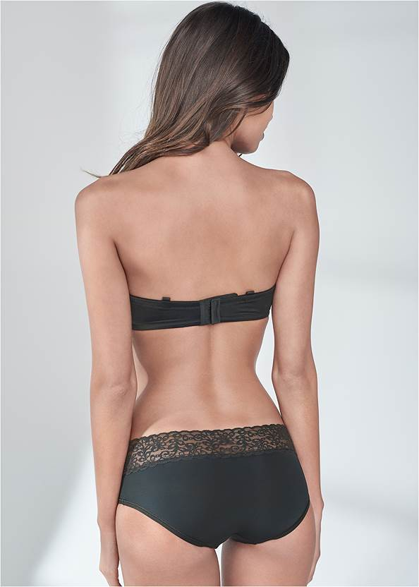 Back View Pearl™ By Venus Strapless Bra
