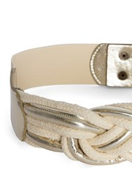 Detail  view Braided Rope Waist Belt