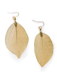 Alternate View Leaf Earring Set