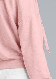 Alternate View Surplice Pullover Sweatshirt