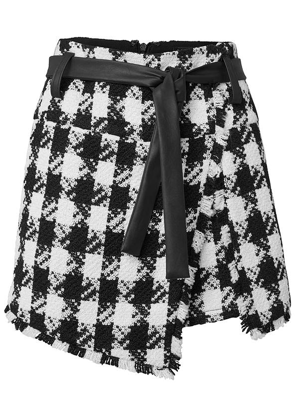 Ghost with background  view Tweed Skort With Belt