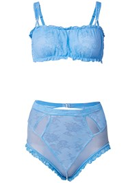 Ghost with background  view Bra High Waist Panty Set