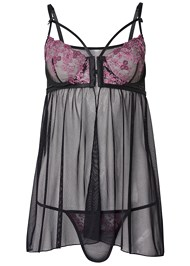 Ghost with background  view Strappy Flyaway Babydoll